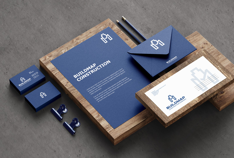 corporate identity for a build company